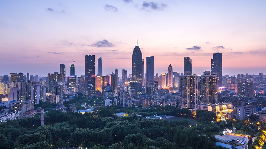 Wuhan, a city of 11 million, is the capital of central China's Hubei Province
